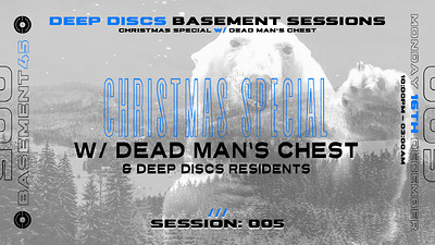 Deep Discs Basement Sessions 005: W/ DMC at Basement 45 in Bristol