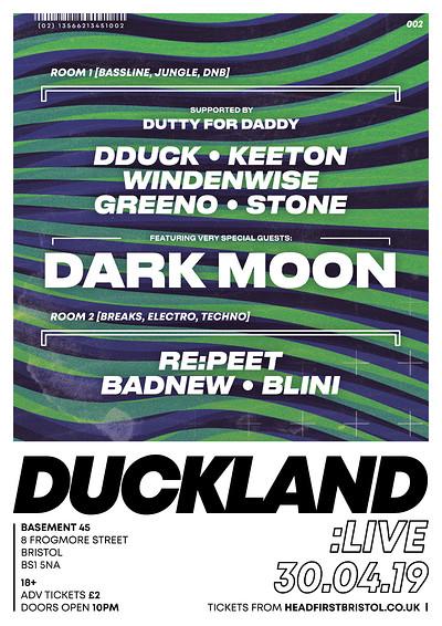 DUCKLAND 002: DARK MOON at Basement 45 in Bristol
