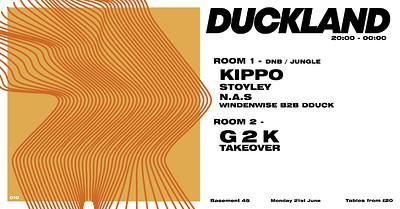 Duckland 010 - Kippo, Stoyley, G2K... at Basement 45 in Bristol