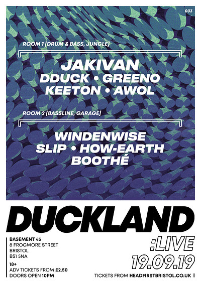 Duckland: Freshers Duck up at Basement 45 in Bristol