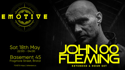 Emotive present: John 00 Fleming at Basement 45 in Bristol