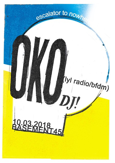 Escalator To Nowhere w/ OKO DJ at Basement 45 in Bristol