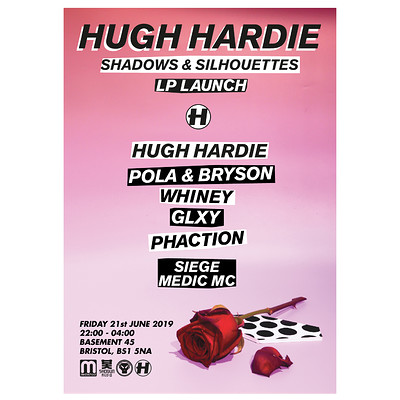 Hugh Hardie 'Shadows & Silhouettes' Album Launch  at Basement 45 in Bristol