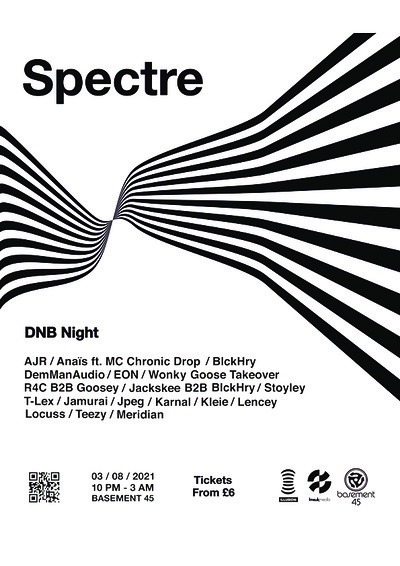 Illusion Bristol presents: SPECTRE at Basement 45 in Bristol