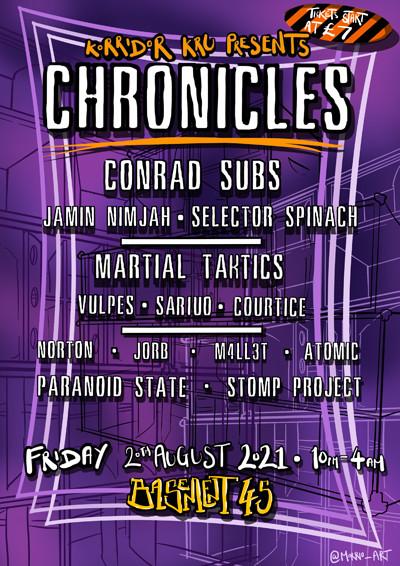 Korridor Kru Presents: Chronicles at Basement 45 in Bristol