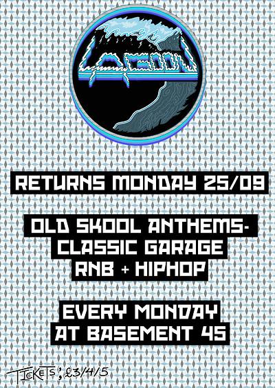 Lagoon: Old Skool Anthems at Basement 45 in Bristol
