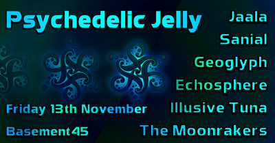 Psy Jelly Presents: The Double EP Launch at Basement 45 in Bristol