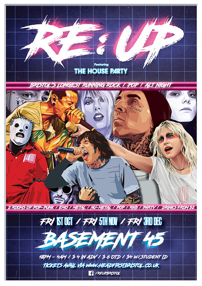 RE:UP - October at Basement 45 in Bristol
