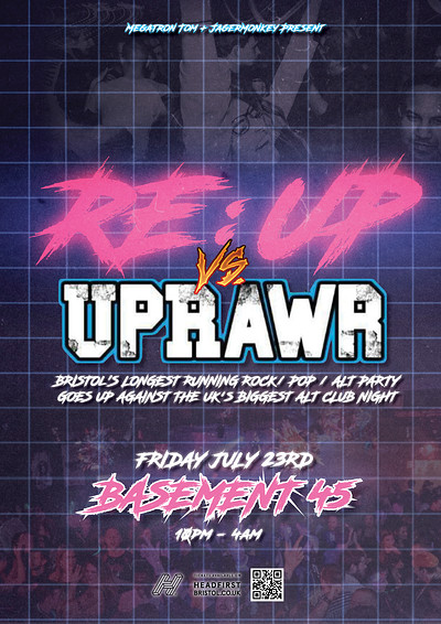 RE:UP VS UPRAWR at Basement 45 in Bristol