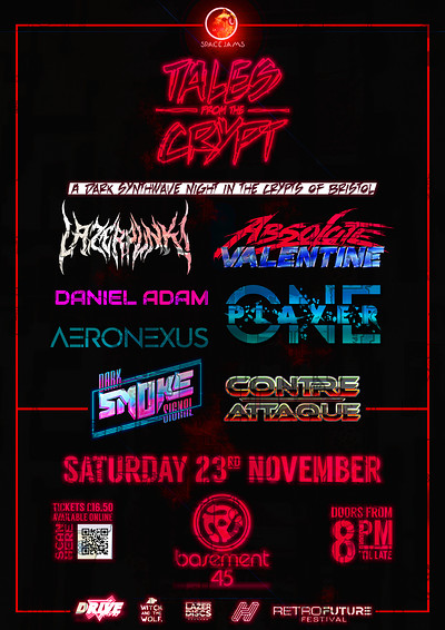 Space Jams: Tales From The Crypt (90% Sold Out) at Basement 45 in Bristol
