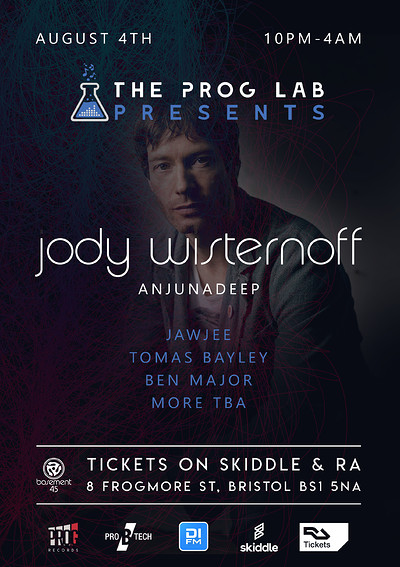 The Prog Lab Presents Jody Wisternoff  at Basement 45 in Bristol