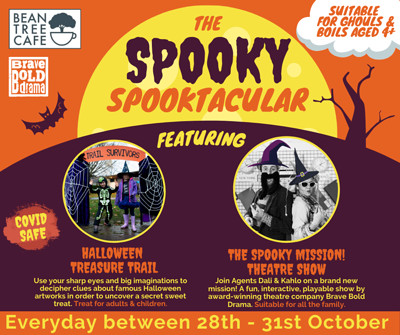 The Spooky Spooktacular at Bean Tree Cafe in Bristol