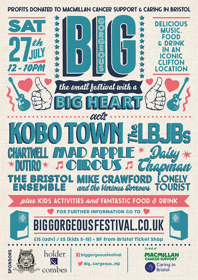 Big Gorgeous Festival at Big Gorgeous Festival, Bristol. in Bristol