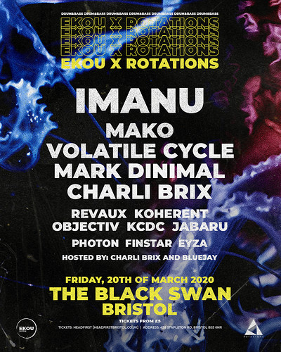 EKOU X ROTATIONS at Black Swan, The in Bristol