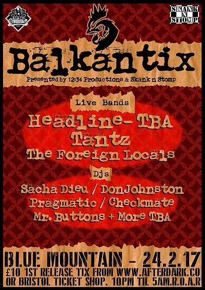 Balkantix at Blue Mountain in Bristol