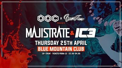 BBC X SLAMJAM - MAJISTRATE & IC3 at Blue Mountain in Bristol