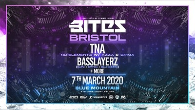 Bites Bristol: TNA, Basslayerz , Nu Elementz, Azza at Blue Mountain in Bristol