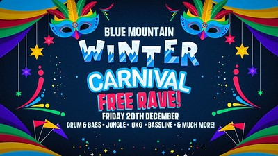 Blue Mountain • Winter Carnival Free Rave at Blue Mountain in Bristol