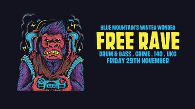 Blue Mountain ∙ Winter Wonder Free Rave! at Blue Mountain in Bristol