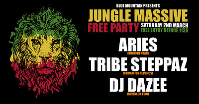 Blue Mountian: Jungle Massive! Free Party! at Blue Mountain in Bristol