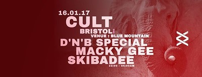 Cult ~ ReFreshers // Macky Gee & Skibadee at Blue Mountain in Bristol