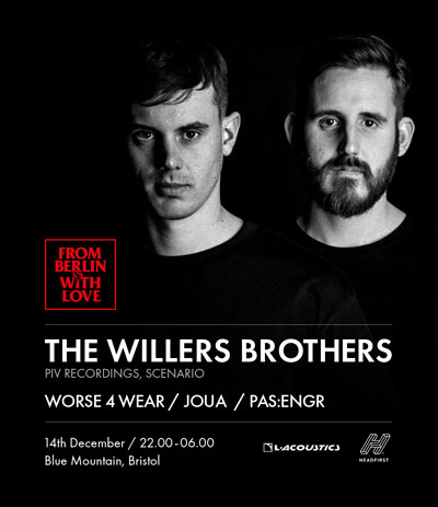 FBWL : The Willers Brothers at Blue Mountain in Bristol