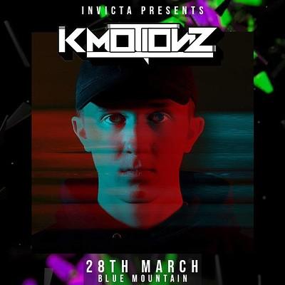 Invicta Presents: K Motionz  at Blue Mountain in Bristol