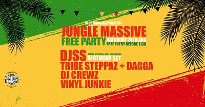 Jungle Massive Free Party: Bristol w/ DJSS  at Blue Mountain in Bristol