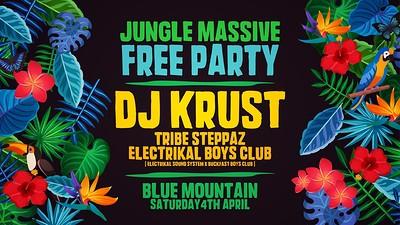 Jungle Massive Free Party • DJ KRUST at Blue Mountain in Bristol