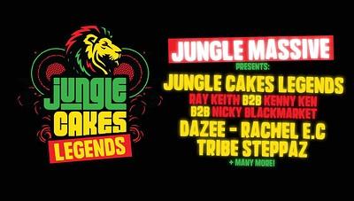 Jungle Massive Presents: Jungle Cakes Legends! at Blue Mountain in Bristol
