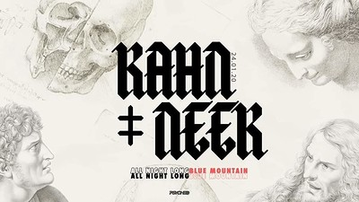 Psyched: Kahn + Neek (All Night Long) at Blue Mountain in Bristol