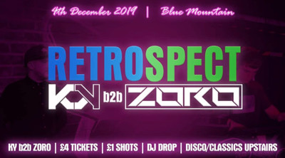 Retrospect: KY b2b Zoro at Blue Mountain in Bristol