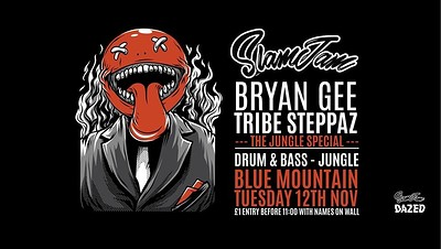 SlamJam 075: Bryan Gee [V Records Jungle Special] at Blue Mountain in Bristol