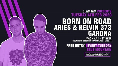 SlamJam 085: Born on Road Free Party at Blue Mountain in Bristol
