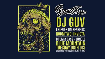 Slamjam 70: DJ Guv at Blue Mountain in Bristol