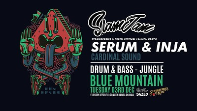 SlamJam X S&C Fest: Serum & Inja, Cardinal Sound at Blue Mountain in Bristol