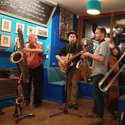 Breaking Bread Jazz Club: Old Malthouse Jazz Band at Breaking Bread in Bristol