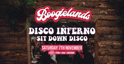 Boogielands ∙ Disco Inferno! at Bridewell Beer Garden in Bristol
