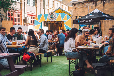SUNDAY 30th AUGUST TABLE RESERVATION at Bridewell Beer Garden in Bristol