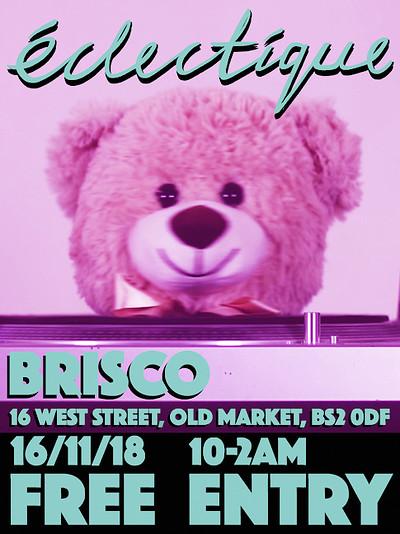 Éclectique  at Brisco in Bristol