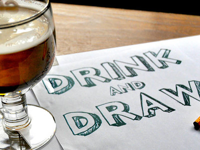 Drink, Draw & Chill - Every Tuesday at BRISCO in Bristol