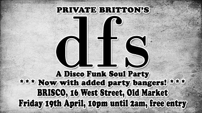 Private Britton's DFS  at BRISCO in Bristol