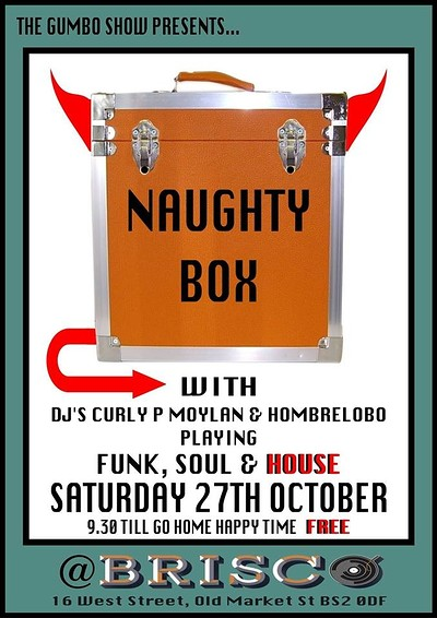 The Gumbo Show presents: Naughty Box at Brisco in Bristol