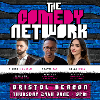 The Comedy Network with Pierre Novellie at Bristol Beacon Foyer in Bristol