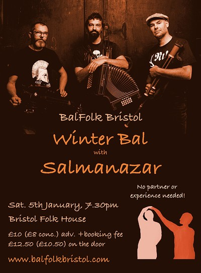 BalFolk with Salmanazar at Bristol Folk House in Bristol