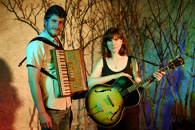 Lucy Farrell and Andrew Waite at Bristol Folk House in Bristol