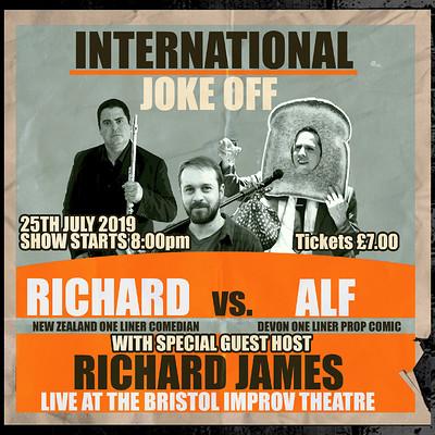 International Joke Off at Bristol Improv Theatre in Bristol