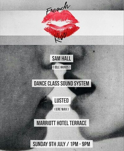 French Kiss - Summer Terrace Party at Bristol Marriott Hotel City Centre in Bristol