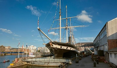 Reimagined Futures: Poetry & Stories for Families at Brunel's SS Great Britain in Bristol