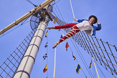 Summer Spectacular with The Invisible Circus at Brunel's SS Great Britain in Bristol